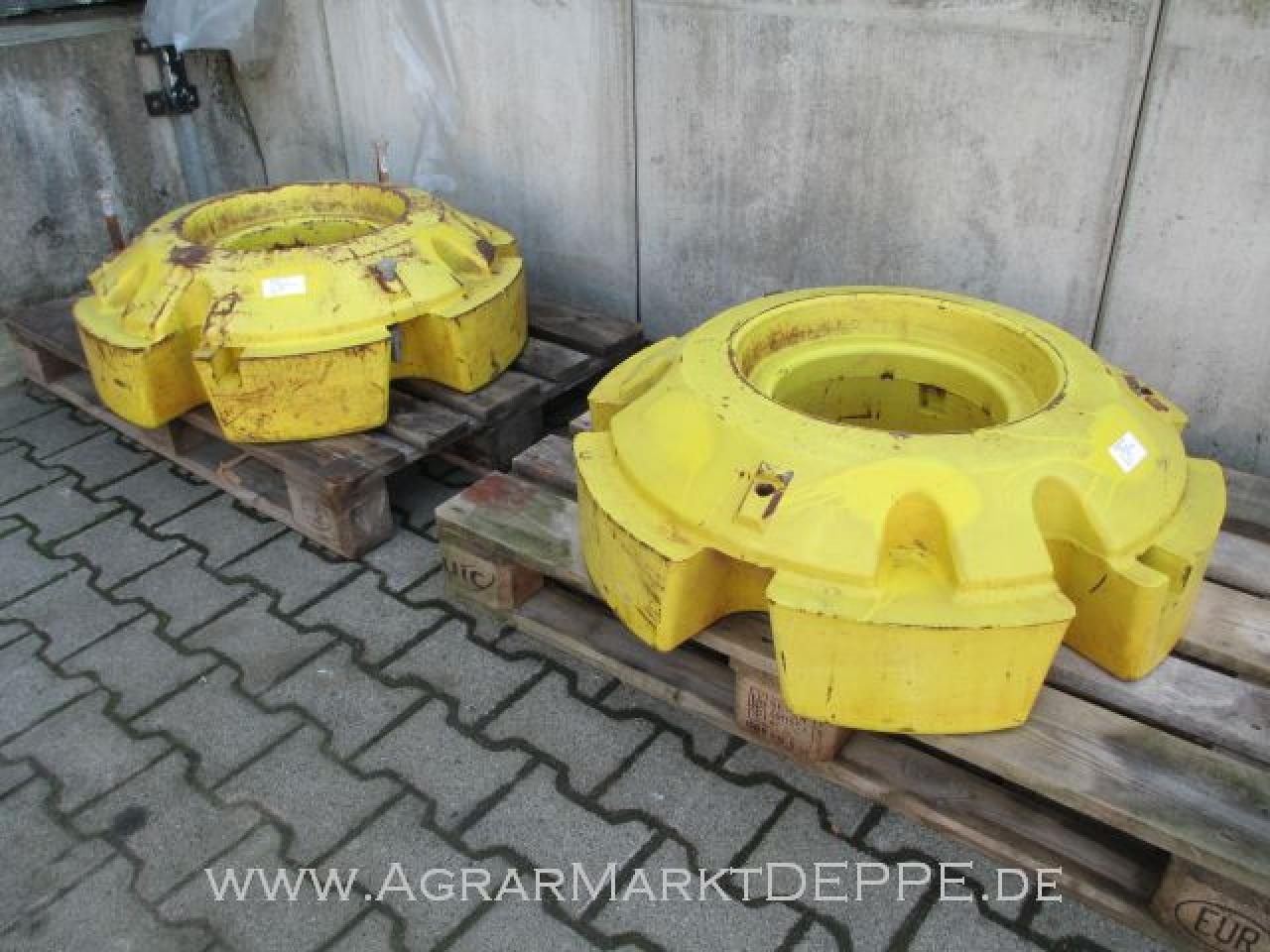 John Deere Radgewichte 2x625kg