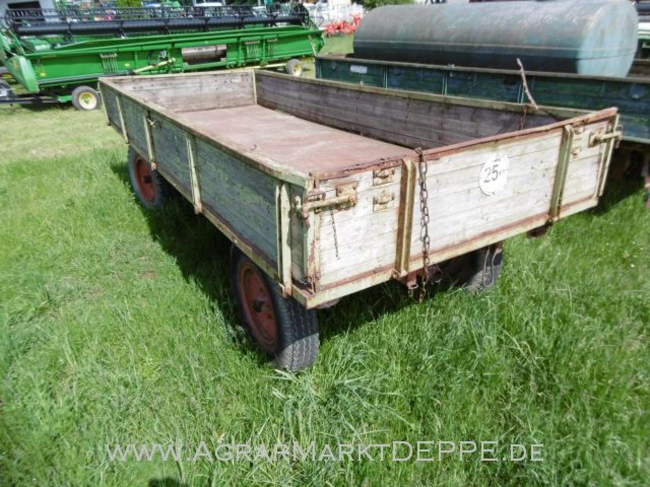 Ackerwagen Plattform