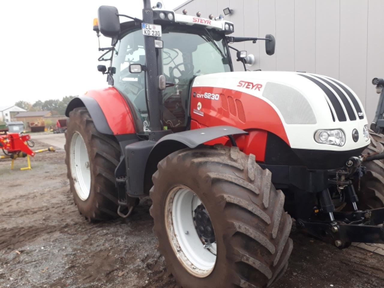 Steyr CVT 6230 Eco Tech