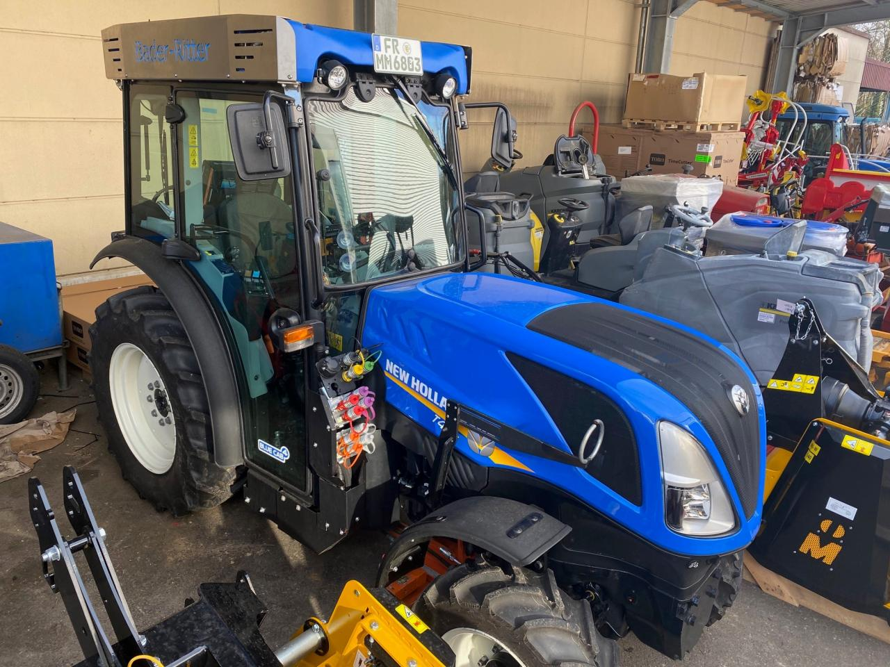 New Holland T4.80 V/CAB