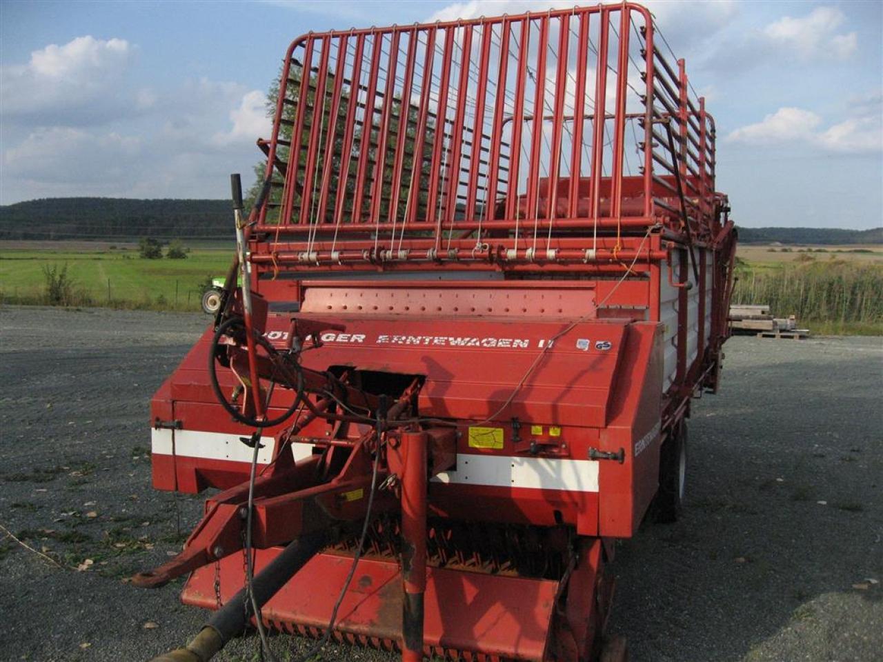 Pöttinger Erntewagen II 2911