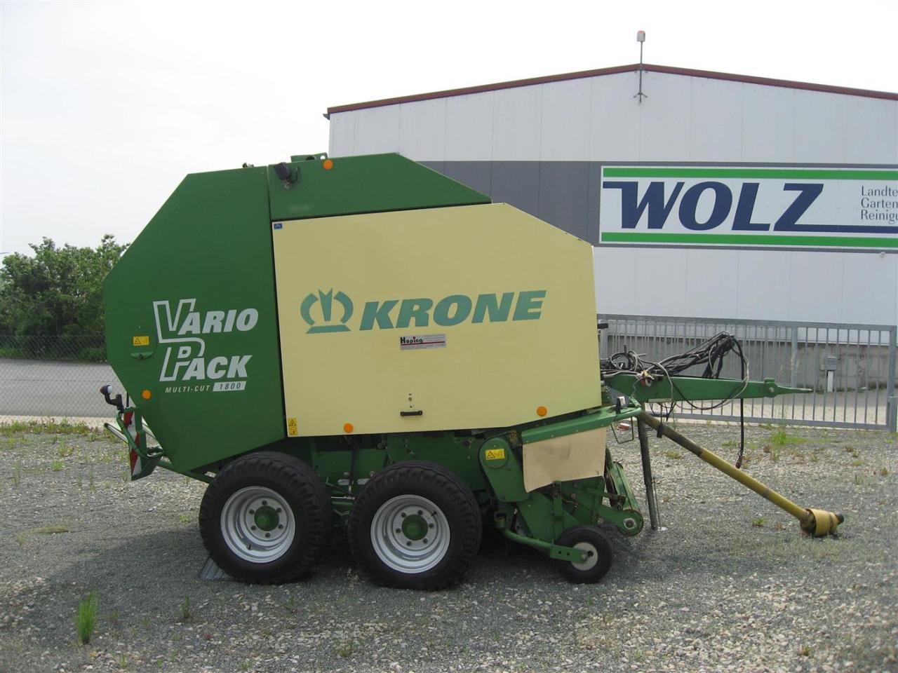 Krone Vario Pack 1800 BS