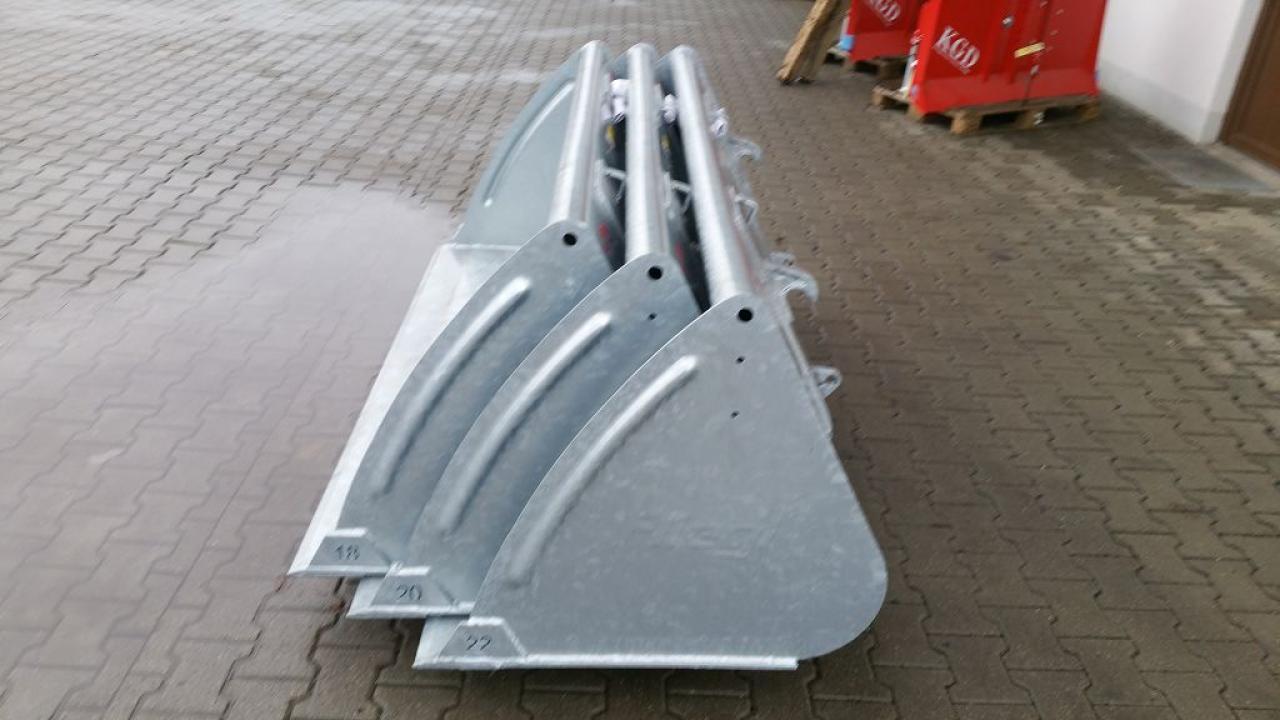 Fliegl 2.000 mm verzinkt
