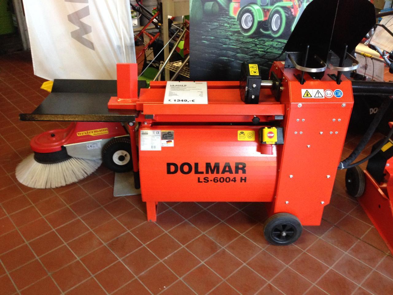 Dolmar Holzspalter LS 6004 H