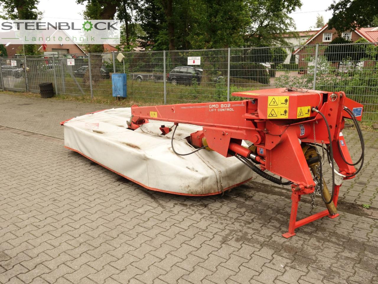 Kuhn Mähwerk GMD802