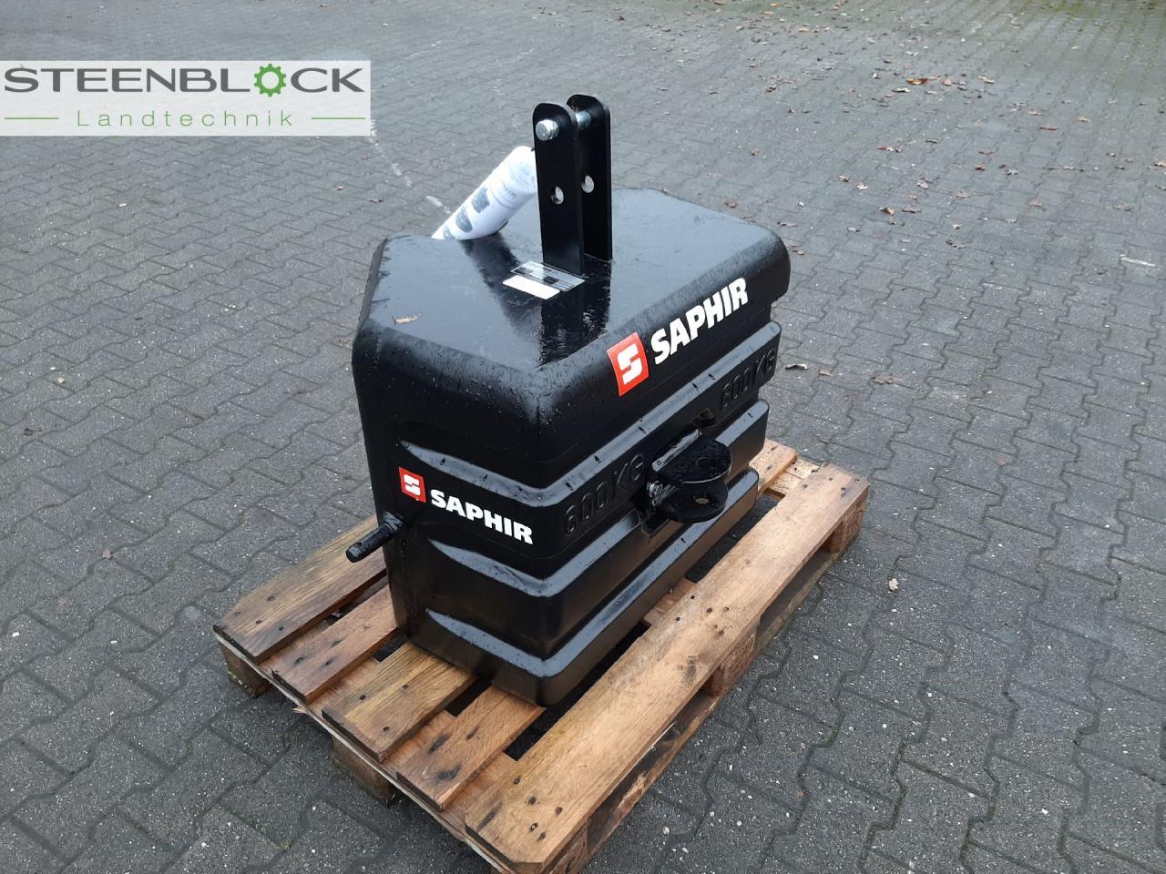 Saphir 600kg