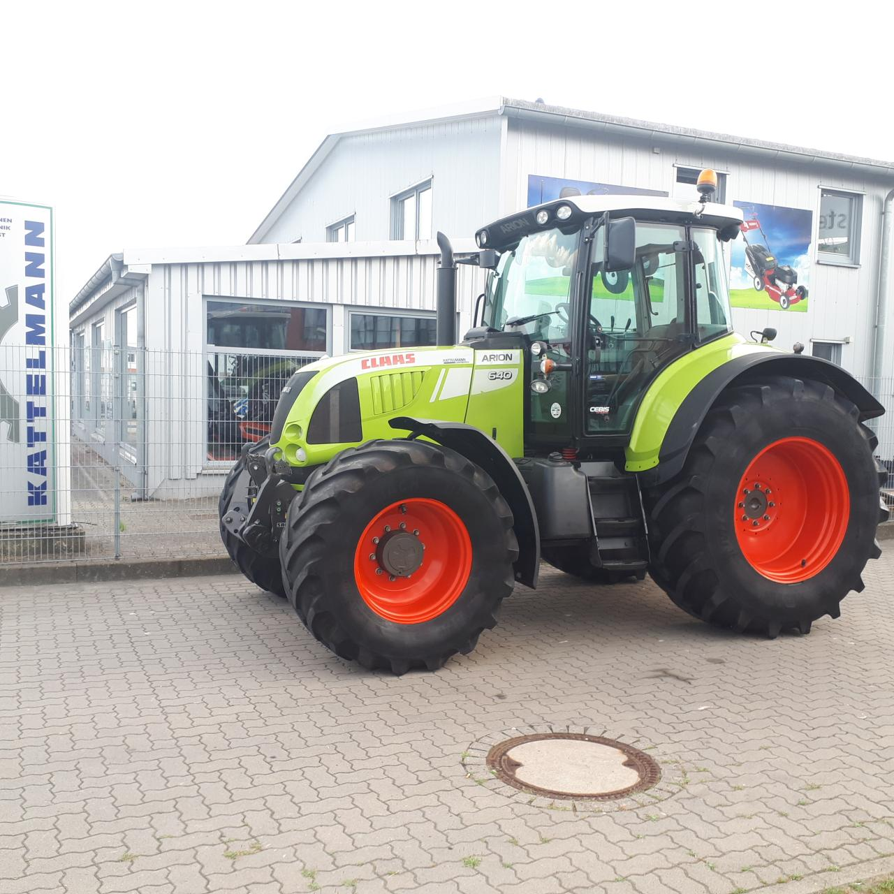 CLAAS Arion 640 Cebis-Hexashift