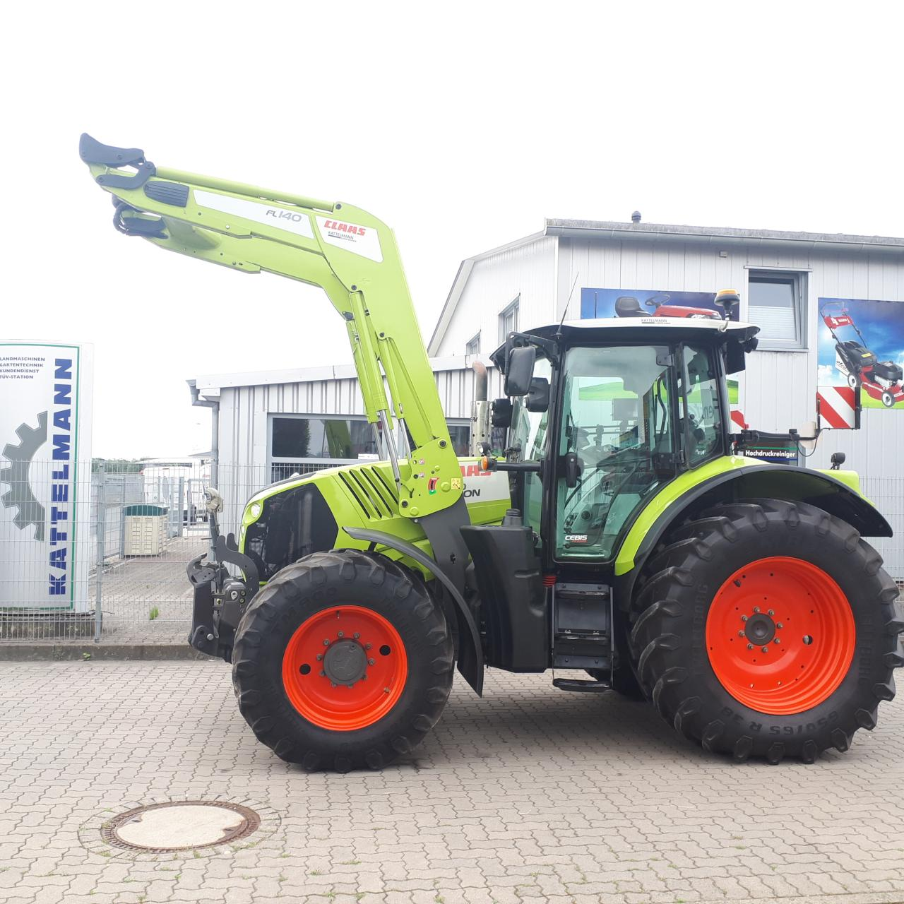 CLAAS Arion 640 Cebis,Hexashift+GPS
