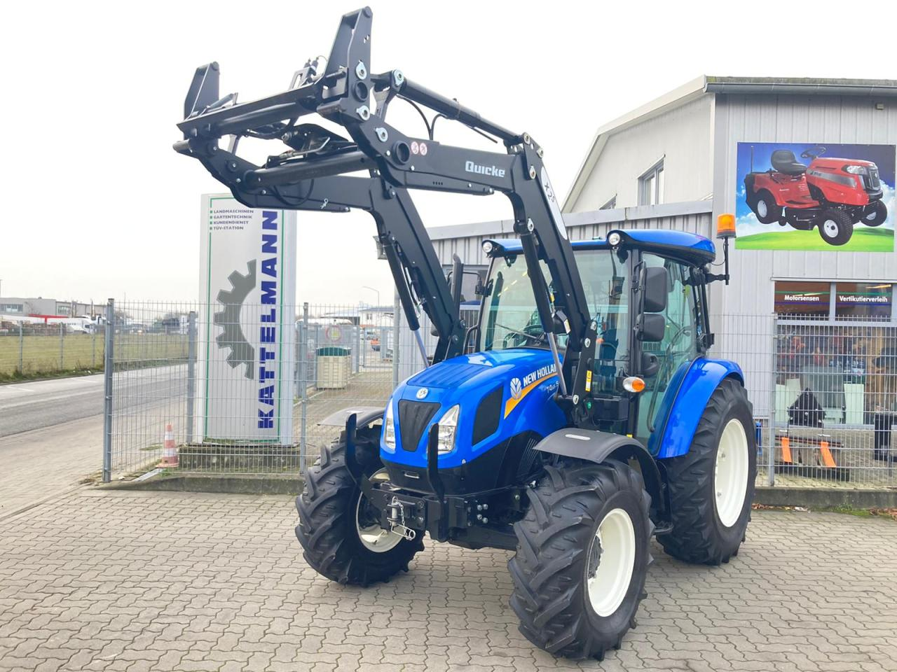 New Holland T4.65S-wie neu!!