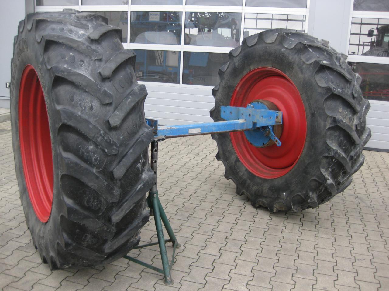 Bohnenkamp Achse mit Räder