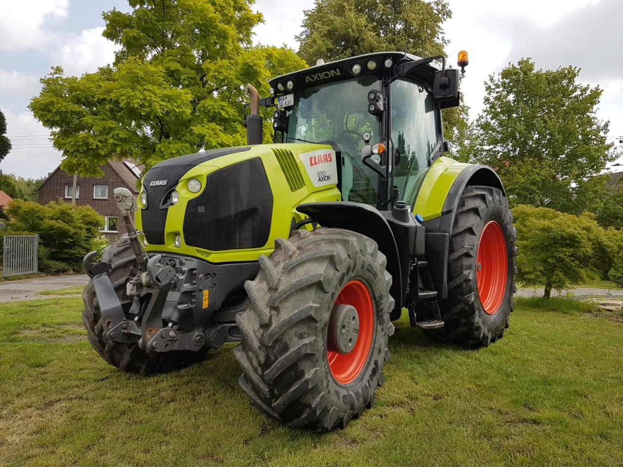 CLAAS 830 cMATIC