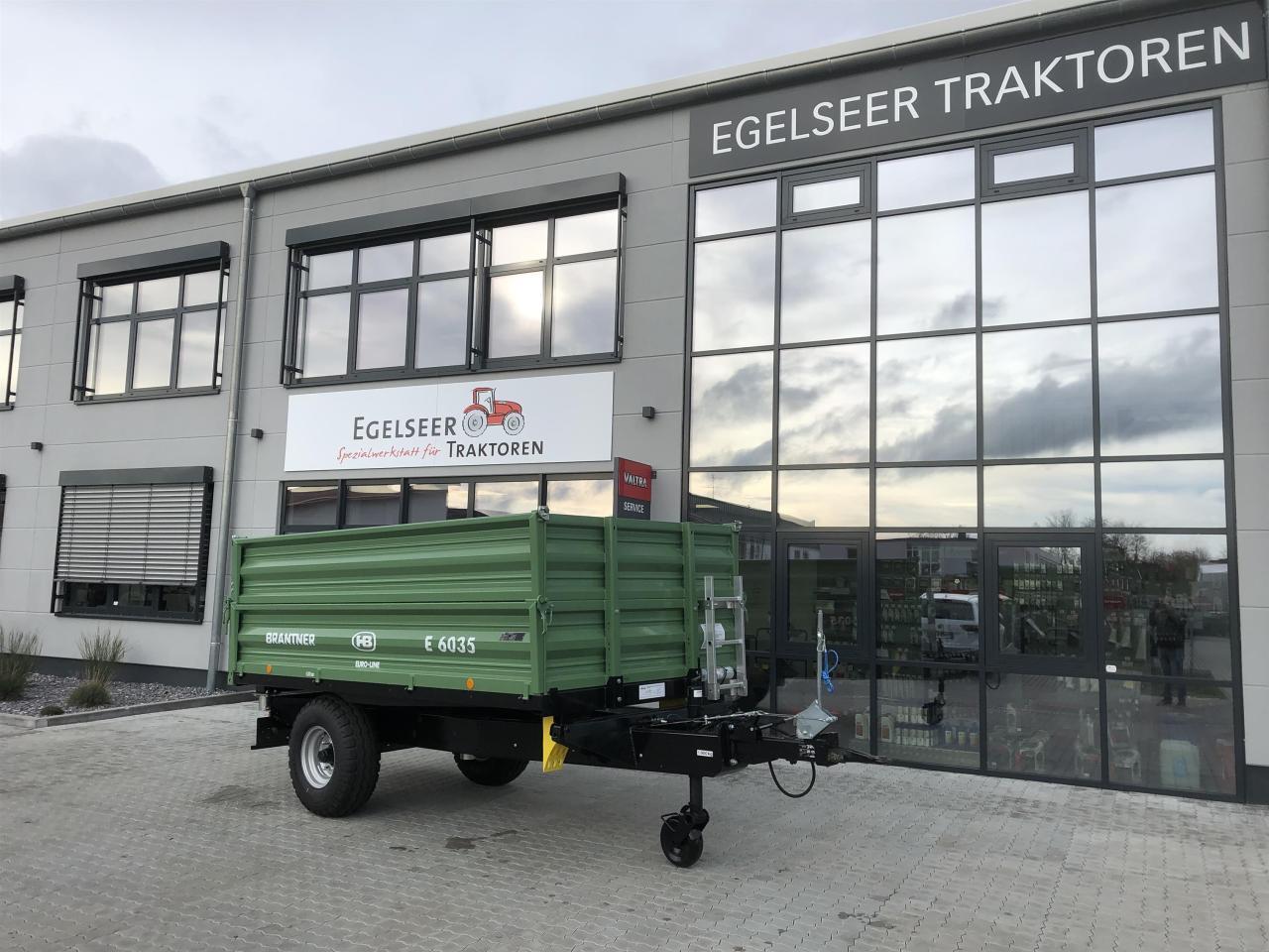 Brantner Dreiseitenkipper E 6035 Euro-Line