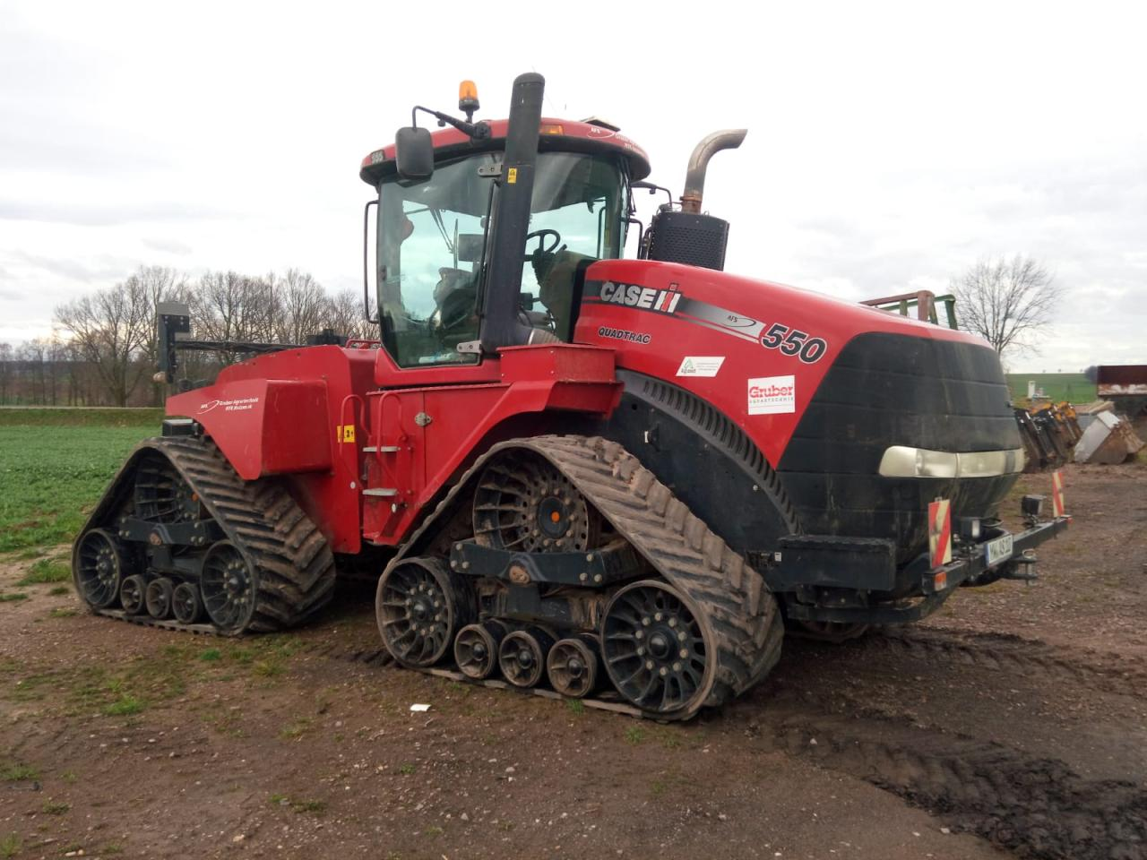 Case Quadtrac STX 550