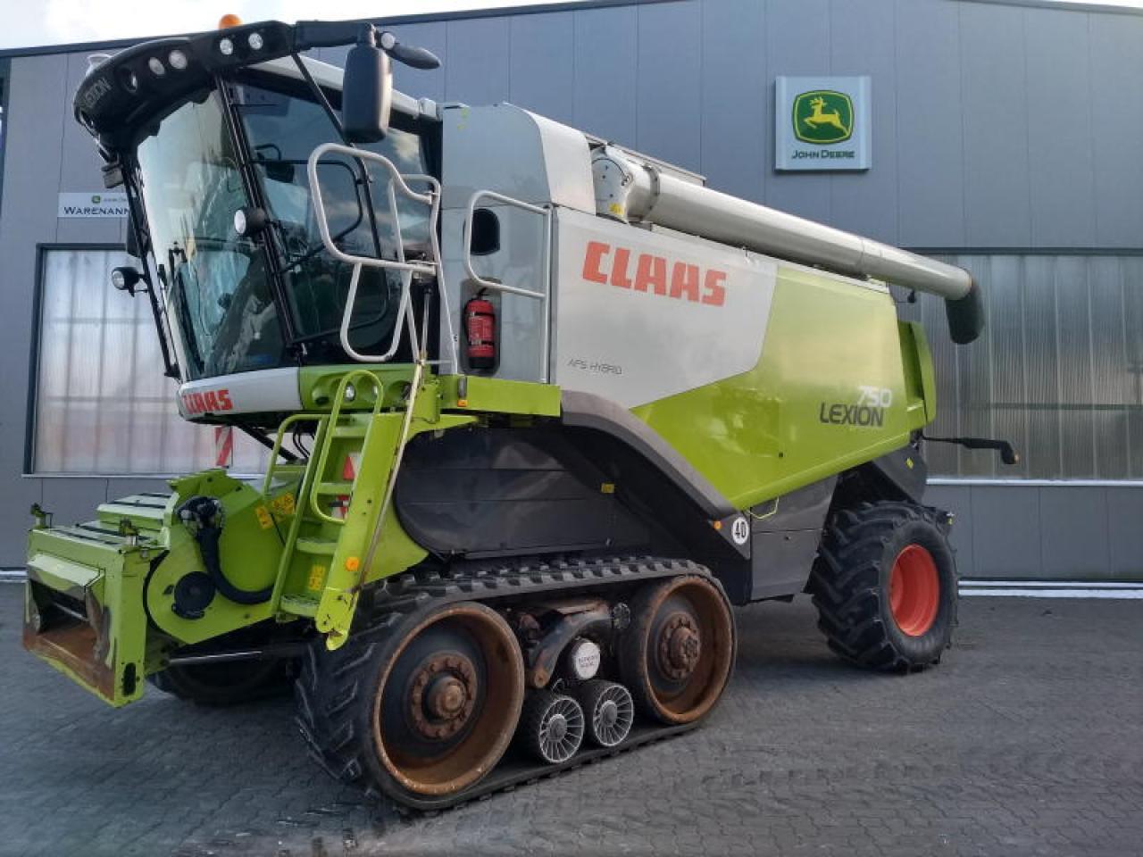 CLAAS CLAAS LEXION 750 TT 4-TRAC