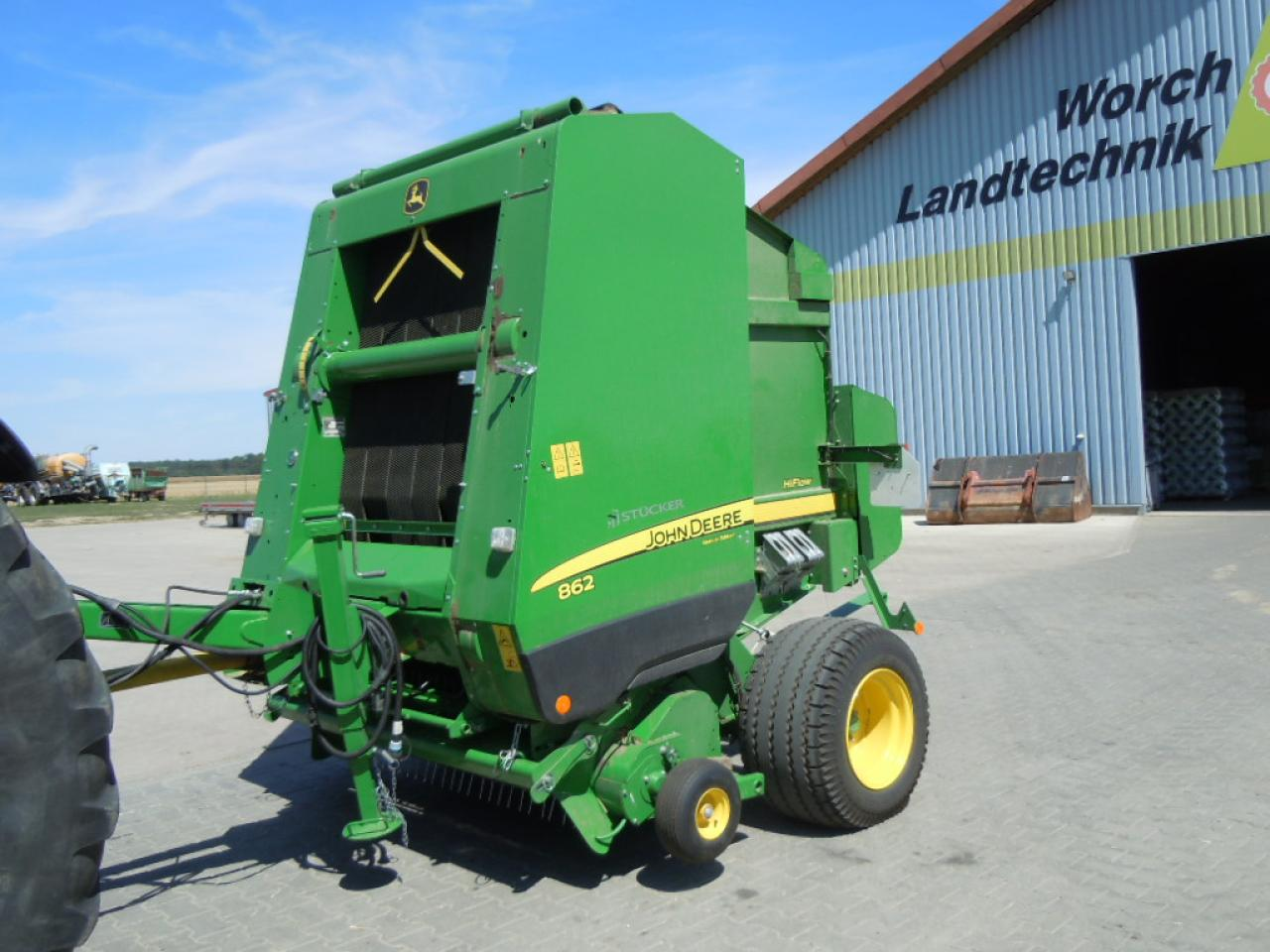 John Deere 862 High Flow Cover