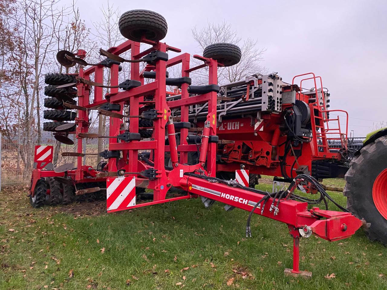 Horsch Tiger 6 LT mit TopRing Packer
